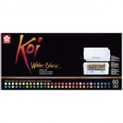 Sakura Koi Watercolours Sketch Box 60 Colours