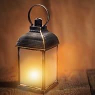 Antique Dancing Flame Effect Lantern
