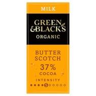 Green & Black's Milk Chocolate Butterscotch90g