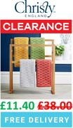 CHRISTY CLEARANCE - Lumo Towels - BATH SHEET - ONLY £11.40 + FREE DEL.