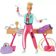 Barbie Sport Gymnastics Doll Playset
