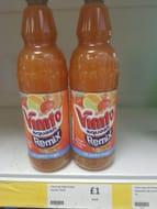 Vimto Squash Remix Orange, Strawberry & Lime Drink 1L