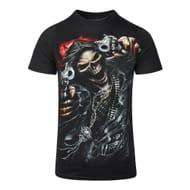 Spiral Direct Assassin T Shirt (Black)