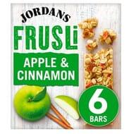 Jordans Frusli Bars Apple & Cinnamon6x30g