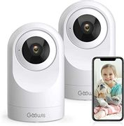 DEAL STACK - WiFi IP Camera, Goowls 1080P Baby Monitor 360 View + 20% Coupon