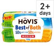 Hovis Best of Both Medium White Bread 750G