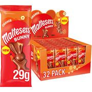 Maltesers Easter Bunny Chocolate Orange, Easter Gifts, 29 G, Pack of 32