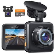 APEMAN Dual Lens Dash Cam - ONLY £29.99 with Voucher