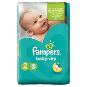 Pampers Baby Dry Nappies - Only £8.76!