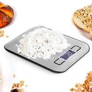 LIGHTNING DEAL - Duronic Digital Kitchen Scales