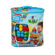 Mega Bloks First Builders Classic or Pink 60-Piece Bag