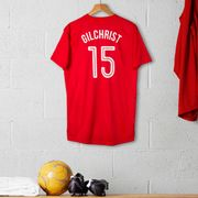 Personalised Adult Official Arsenal Football Top