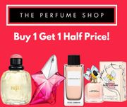 The Perfume Shop Buy 1 Get 2nd Half Price Inc Up To 50% Off Sale + Free Delivery