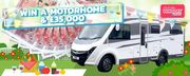 Win an Amazing Motorhome & £35,000! (Premium/Postal)