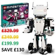 SAVE £130! LEGO MINDSTORMS: ROBOT INVENTOR 5-IN-1 (51515)