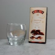 Baileys Tumbler and Chocolate