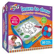 Galt Toys, Learn to Draw, Step by Step Drawing Lightbox Kit