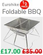 Eurohike Foldable BBQ - HALF PRICE