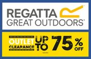 REGATTA CLEARANCE OUTLET - up to 75% off
