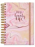 Rachel Ellen Designs Personal Organiser My Lovely Life A5 Undated Weekly Planner