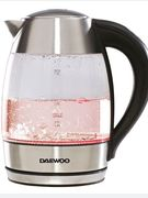 Daewoo SDA1670 2200W Digital Temperature Control 1.8L Kettle - Stainless Steel