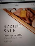 Aromatherapy Associates Spring Sale up to 50%