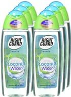 Right Guard Women Coconut Water Shower Gel, 250 Ml - Pack of 6