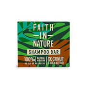 Faith in Nature Natural Coconut and Shea Butter Shampoo Bar 85g