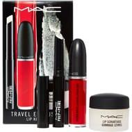 MAC Three Piece Travel Exclusive Red Lip Kit
