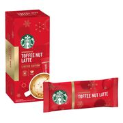 24 Limited Edition Starbucks Toffee Nut Latte Sachets Free Del.