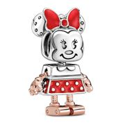 Pandora Disney Minnie Mouse Robot Charm