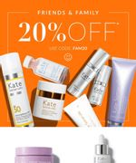 Kate Somerville 20% off Use Code FAM20