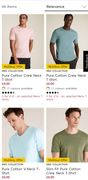 M& S 3 for £16 on Selected Men's T-Shirts