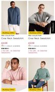 M&S 2 for £40 on Selected Men's Sweatshirts