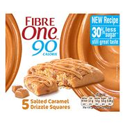 Fibre One Salted Caramel High Fibre Cake Squares - Only £1.25!
