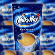 8 X Milky Way Instant Drinking Hot Chocolate 140g Packs