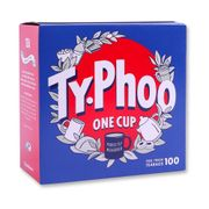 Typhoo 100 round Tea Bags - Only 0.89!