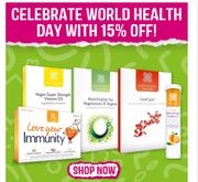 15% Off Healthspan Supplements For World Health Day