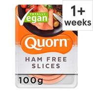 Quorn Vegan Smoky Ham Free Slice 100G £1.40 Clubcard Price