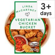 Linda Mccartneys Vegetarian Chicken Bucket 390G £4.00 Clubcard Price