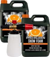 Snow Foam Brass Lance + 2 X 5 Litre Prokleen Snow Foam . HSD at EBay Using Code