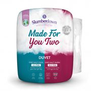 SLUMBERDOWN MADE for YOU TWO DUVET - Only £21.99!