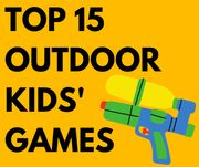 15 Outdoor Games Inc. Water Guns, Go-Karts & Water Slides - From £3.49