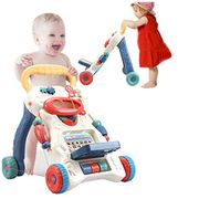 3 in 1 Kids Activity Centre Push and Pull Learning Walker