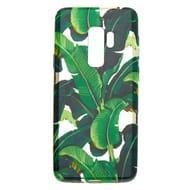 Metallic Palm Leaves Phone Case - Fits Samsung Galaxy S9 Plus