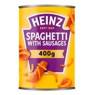 Heinz Spaghetti & Sausages 400g