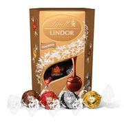 Lindt Lindor Assorted Chocolate Truffles Box, 200g