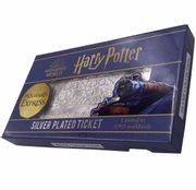 Hogwarts Express Silver Plated Limited Edition Ticket