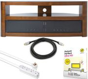 AVF TV Stand Bundle - TV Stand, Picture Perfect, Extension Lead & HDMI Cable