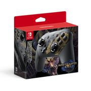 Nintendo Switch Pro Controller Monster Hunter Rise Edition - Only £59.99!